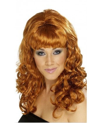 Perruque Sixties femme rousse