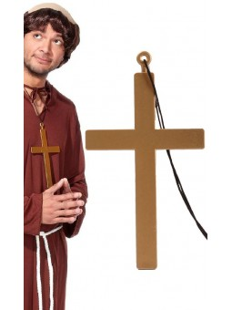 Croix géante dorée