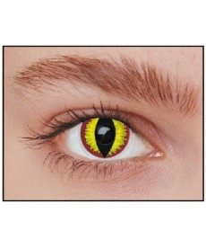 Lentilles yeux de diable