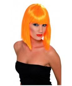 Perruque GLAM orange