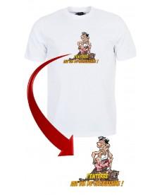 """Tee shirt """"Mister Marcel - J'enterre ma vie de célibataire !"""""""