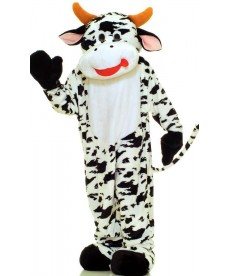 Mascotte géante de vache