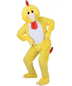 mascotte de poule
