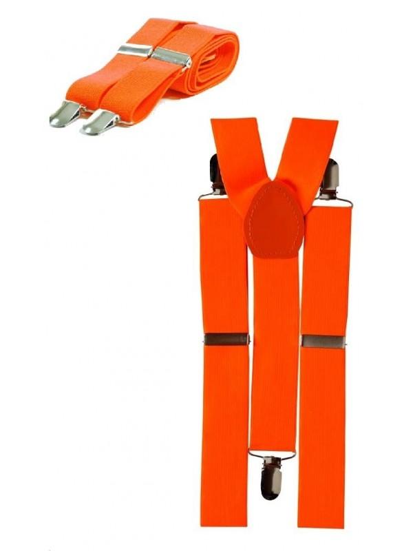 Bretelles orange