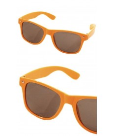 Lunette néon orange