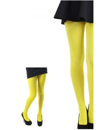 Collant jaune fluo