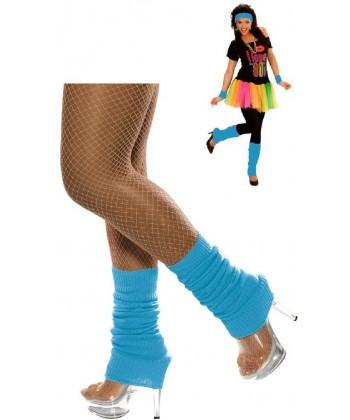 Chaussettes de danse turquoise