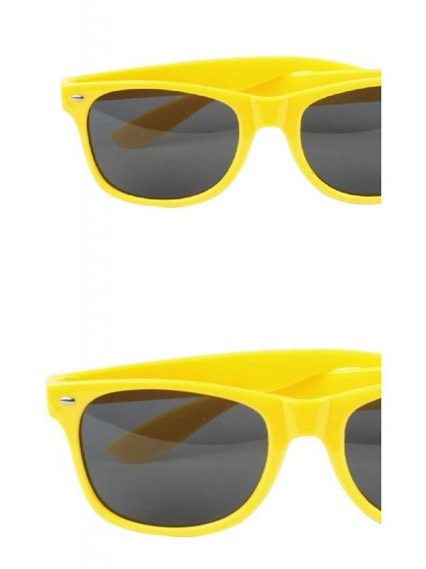 Lunette néon jaune
