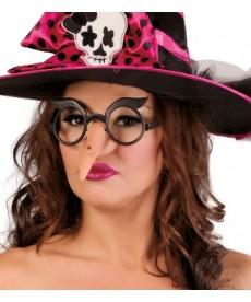 Nez de sorcière avec lunette