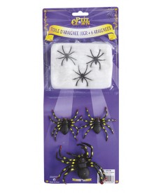 toile araignée halloween