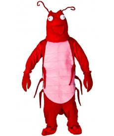 mascotte de crevette