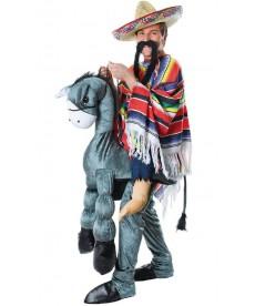 Déguisement de mexicain à cheval