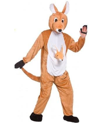 mascotte de kangourou