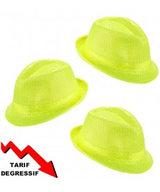 Chapeau brice jaune