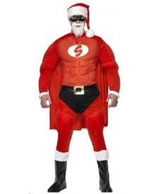 Costume de super père noel