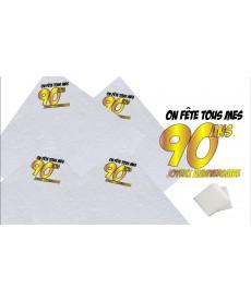 """20 Serviettes """"80ans"""""""
