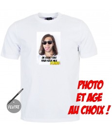 tshirt photo anniversaire