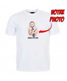 Tshirt Photo + Bonne fête papa