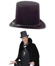 Chapeau rocambole noir