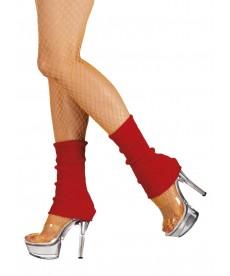 Chaussettes de danse rouge