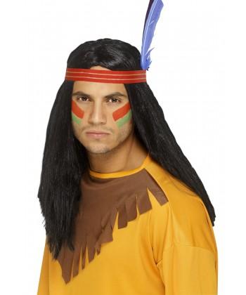 Perruque d'indien Squau