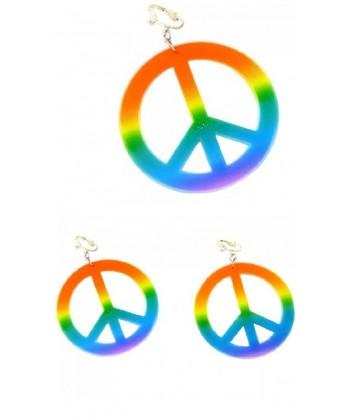 Paire de boucle d'oreille hippie