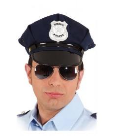 Casquette de policier bleue