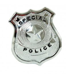 Badge POLICE (métal)