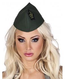 Calot militaire femme