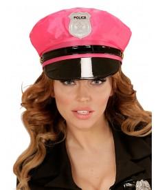 Casquette femme flic rose
