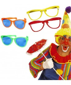 Lunette géante de clown
