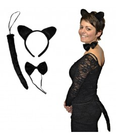 Kit de déguisement - Chat noir