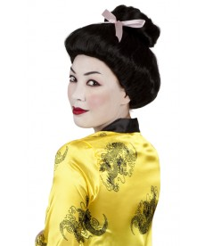 perruque femme geisha