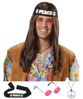 set de déguisement hippie