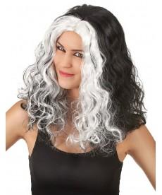 Perruque halloween femme