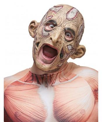 Masque de momie en latex