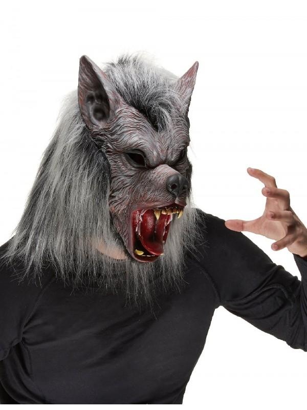 Masque de loup garou halloween