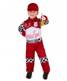 Déguisement pilote de voiture F1