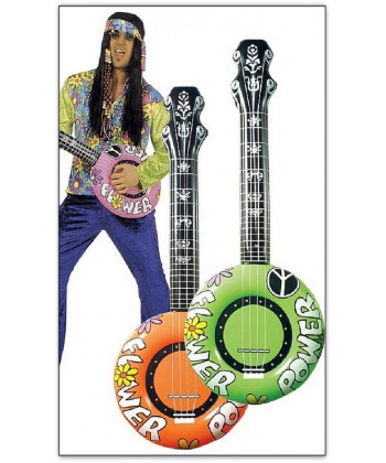 Guitare Hippy man