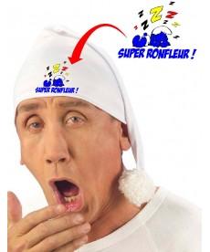 """Bonnet de nuit """"Super ronfleur"""""""