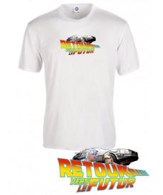 Tee shirt retour vers le futur