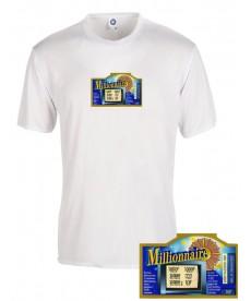 Tee shirt millionnaire