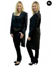 Veste queue de pie noire pour femme (XL)