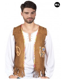 Gilet hippie mixte