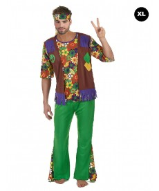 Déguisement hippie grande taille
