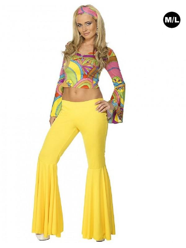 Déguisement hippie - Le pantalon pattes deph