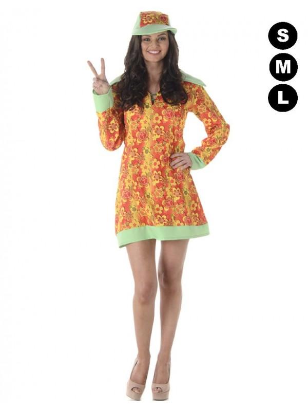 déguisement hippie femme pas cher