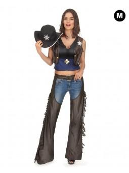 Déguisement de cowboy femme