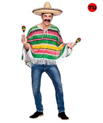 Déguisement de mexicain - Poncho