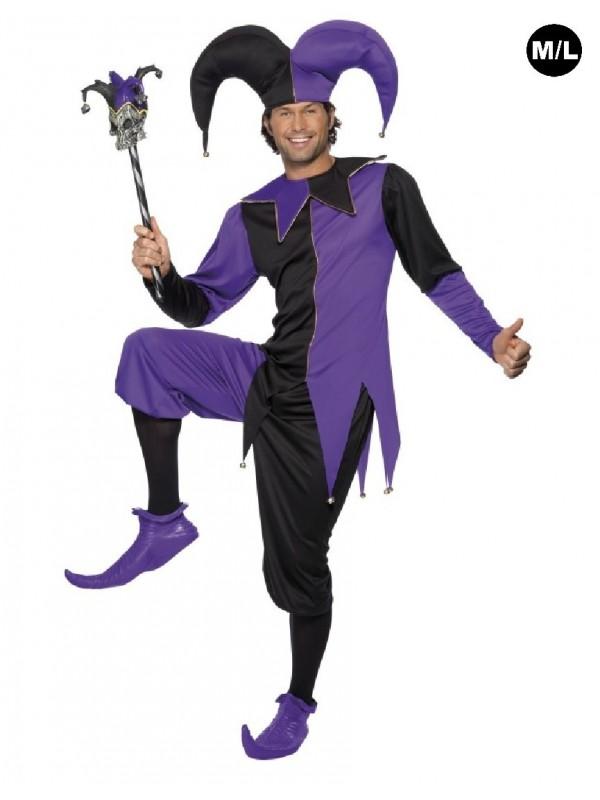 Costume de bouffon médiéval